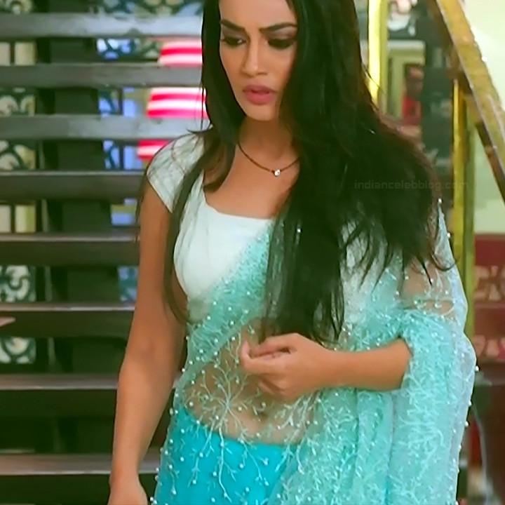 Surbhi jyoti hindi tv actress Naagin S3 13 hot saree photo