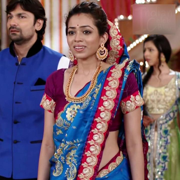 Vaishnavi dhanraj hindi tv actress Begusarai S1 11 hot saree photo