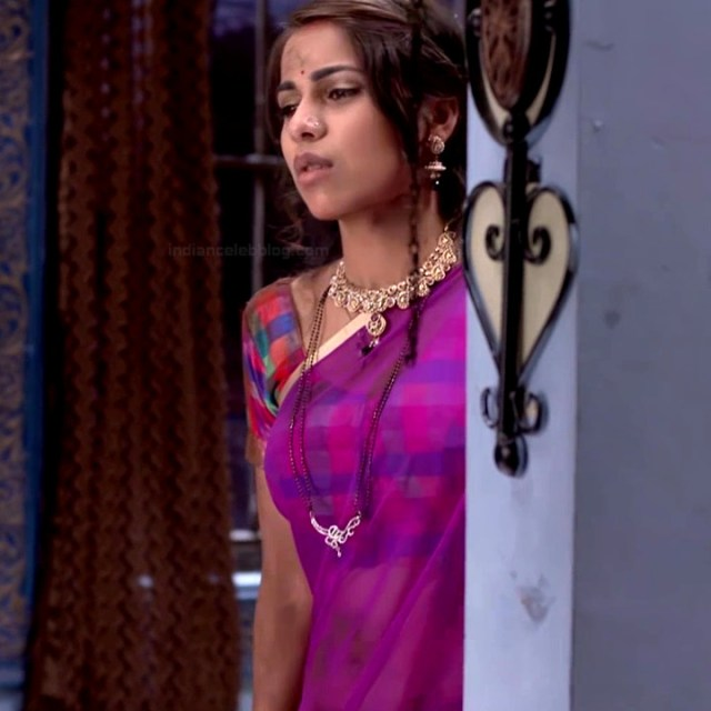 Veebha anand hindi tv actress begusarai S1 14 saree photo
