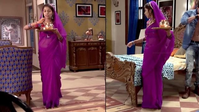 Veebha anand hindi tv actress begusarai S1 8 sari caps