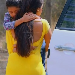Malavika wales tamil tv actress Nandini S1 15 hot saree photo