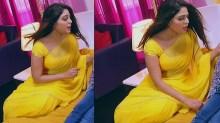 Malavika wales tamil tv actress Nandini S1 18 hot saree pics