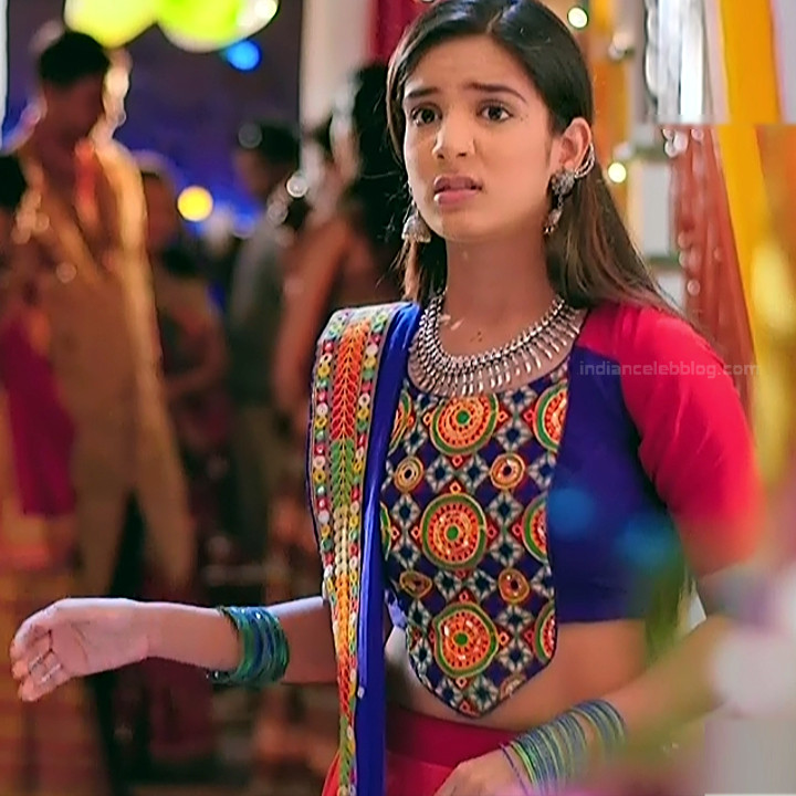Nikki sharma hindi serial actress Roop MKNSS2 7 lehenga caps