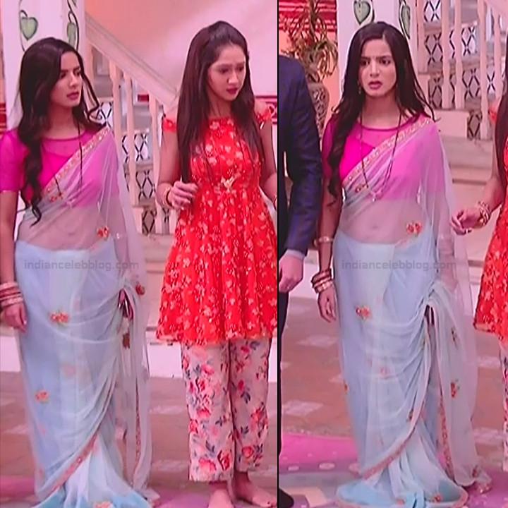 Nikki sharma hindi serial actress Roop MKNSS2 9 saree pics