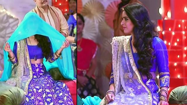 Supritha sathyanarayan kannada tv Seetha VS1 15 hot lehenga pics