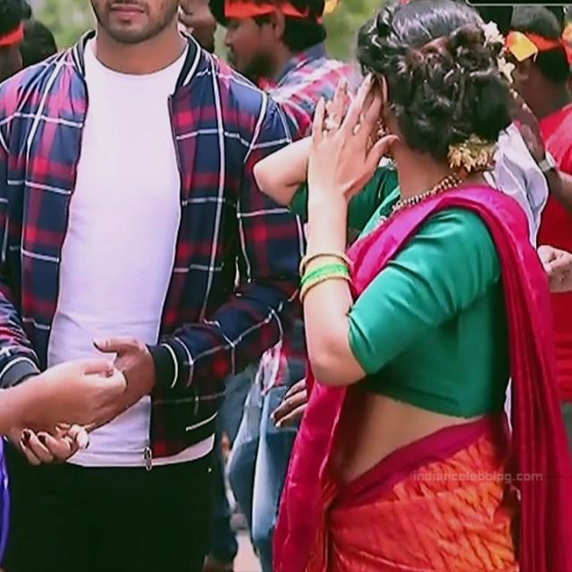 Supritha sathyanarayan kannada tv Seetha VS1 3 hot sari caps