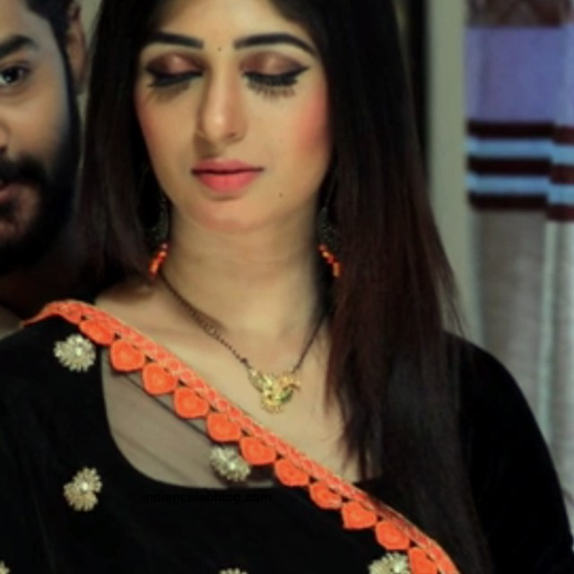 Aditi prabhudeva kannada tv actress Nagakannike S1 16 saree photo