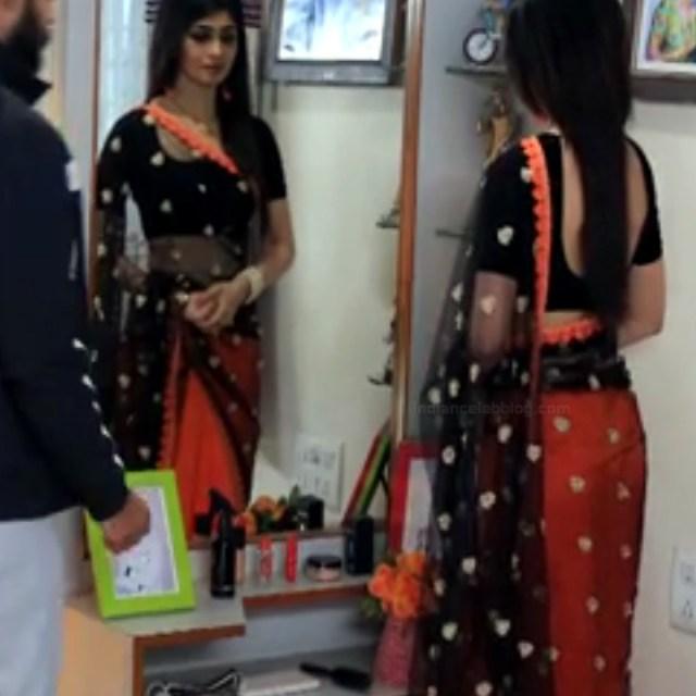 Aditi prabhudeva kannada tv actress Nagakannike S1 17 saree pics