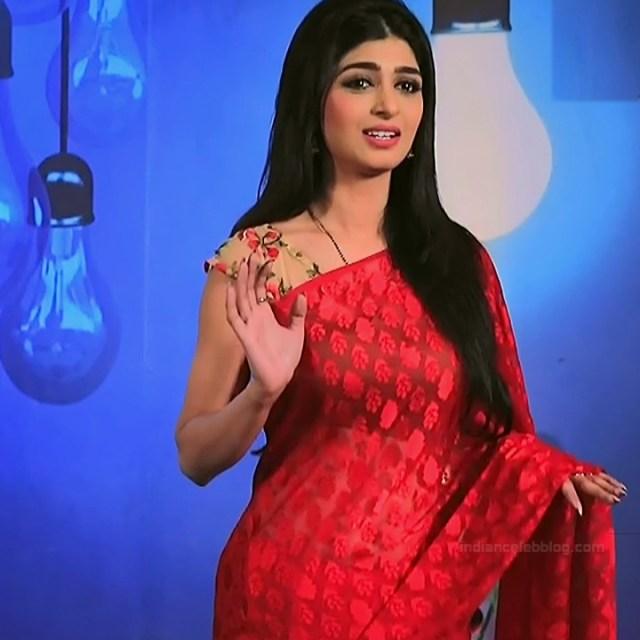 Aditi prabhudeva kannada tv actress Nagakannike S1 5 hot saree photo