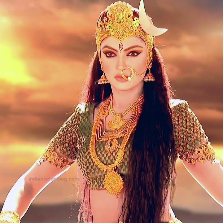 Akansha puri hindi tv actress Ganesha GS2 16 Adi parashakti image