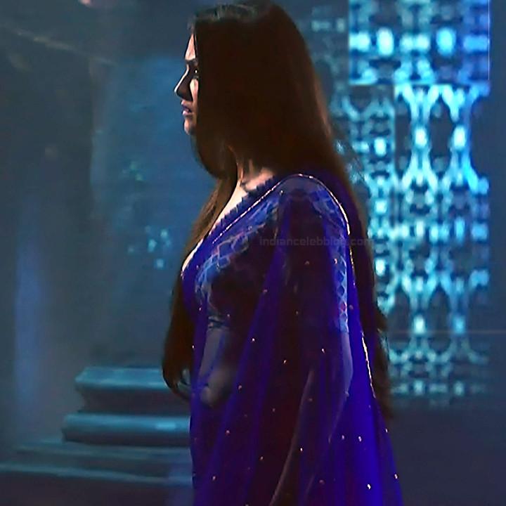 Anita hassanandani hindi tv actress Naagin S1 12 hot saree caps