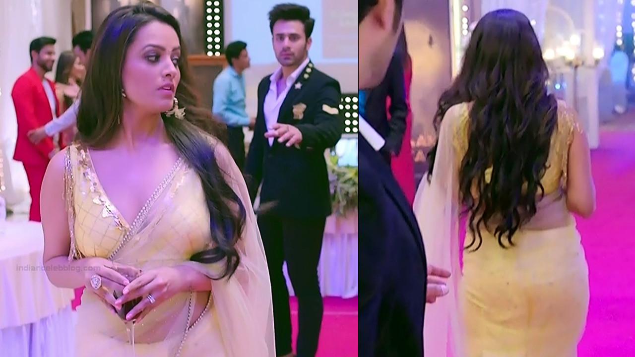 Anita hassanandani hindi tv actress Naagin S1 16 hot saree pics