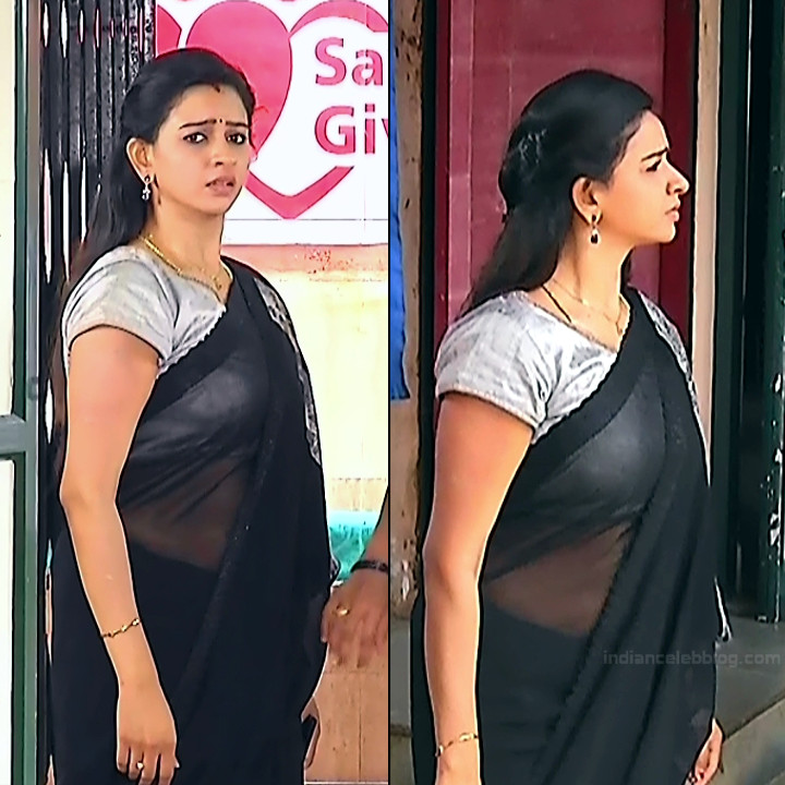 Divya ganesh tamil serial actress sumangali S4 2 saree pics
