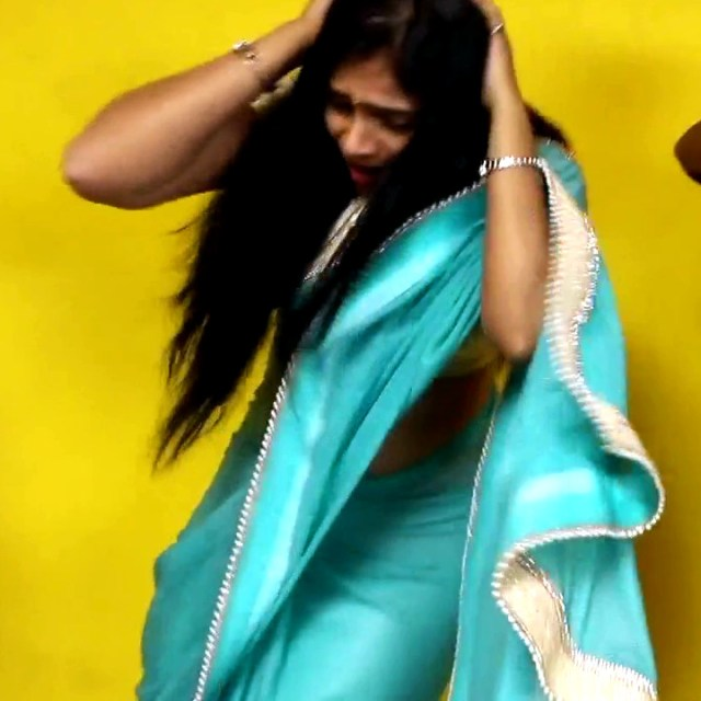 Kavitha tamil tv actress Neeli S1 15 hot saree caps