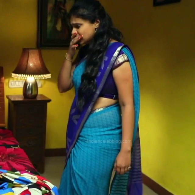 Kavitha tamil tv actress Neeli S1 19 hot saree photo