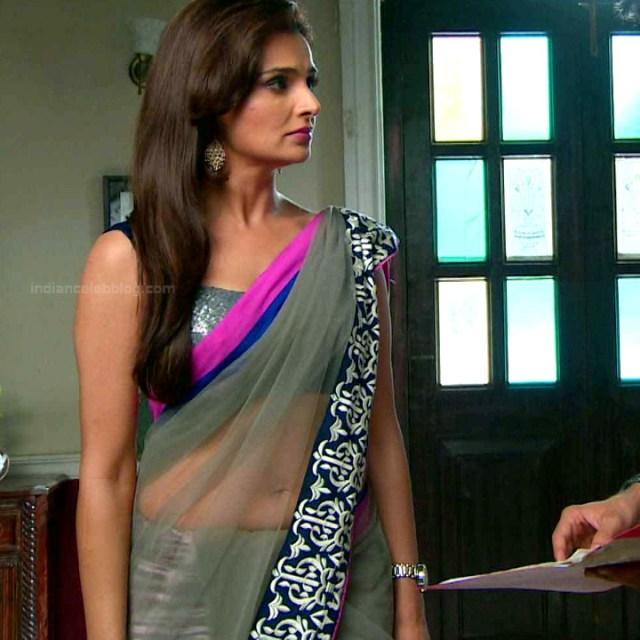 Monica bedi hindi tv actress saraswati CYTDS1 2 hot saree navel photo