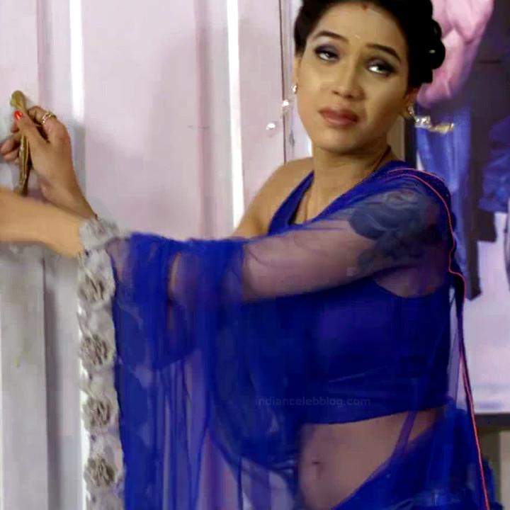 Priyanka bora hindi tv actress Siddhi VS1 5 hot saree caps