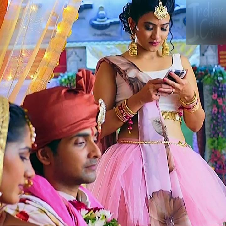 Aditi sharma hindi tv actress Silsila BS1 13 hot lehenga photo