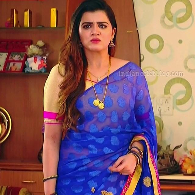 Aishwarya gowda telugu tv actress Akka MS1 12 sari pics