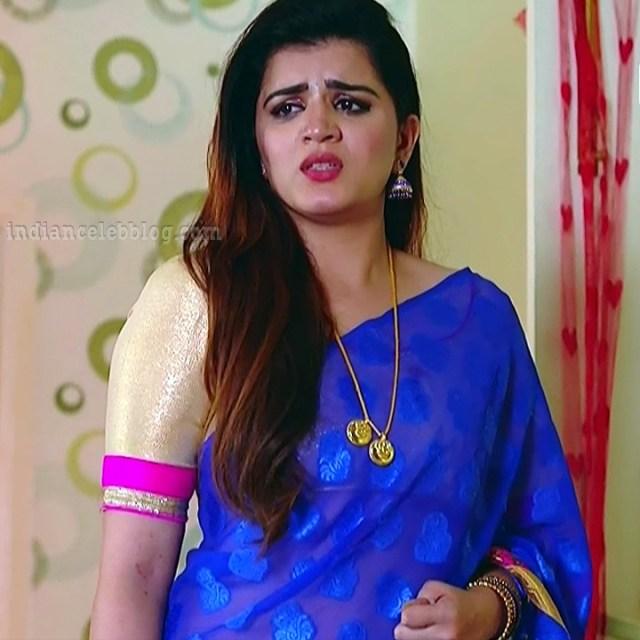 Aishwarya gowda telugu tv actress Akka MS1 9 sari photo