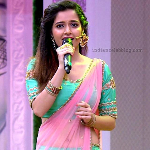 Ashika ranganath Kannada film actress EventsS1 13 Lehenga photo