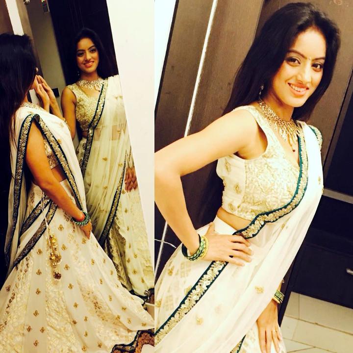Deepika singh hindi TV actress CTS3 8 hot lehenga photo