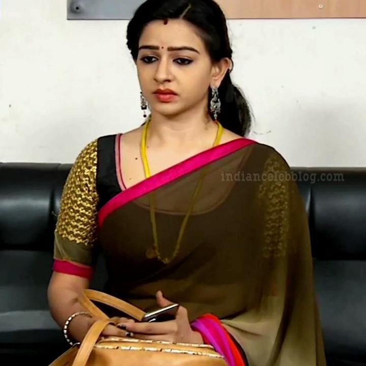 Divya ganesh tamil tv actress sumangali S5 15 hot saree caps