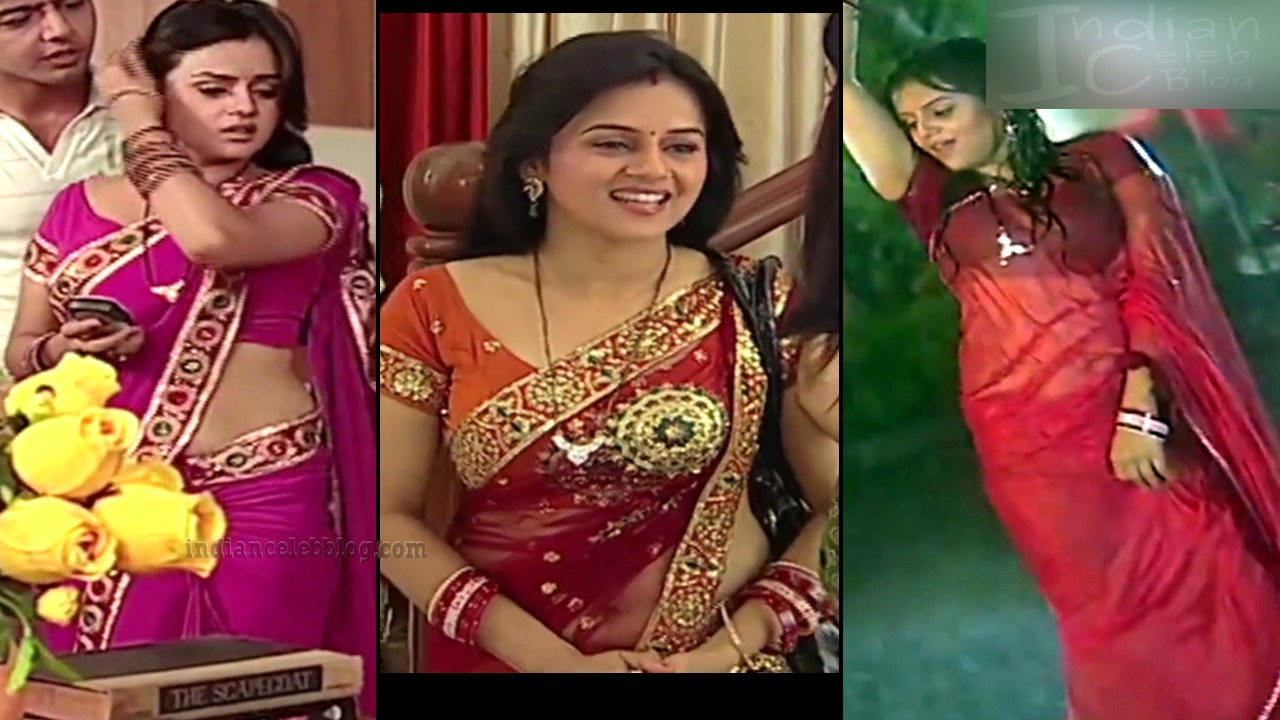 Jayshree soni Niyati TV serial actress Hot Saree Caps n Video