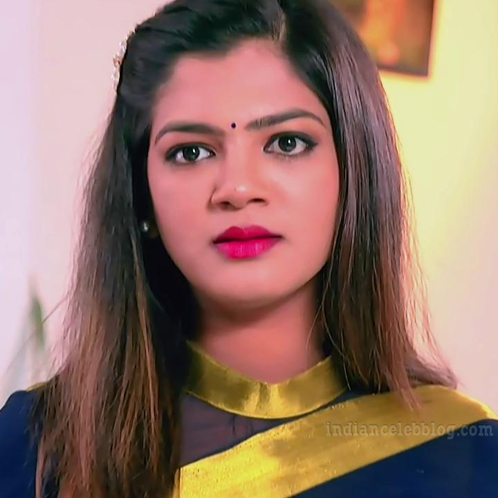 Kannada Serial actress Tapsee Satyam shivam SS1 7 Saree photo