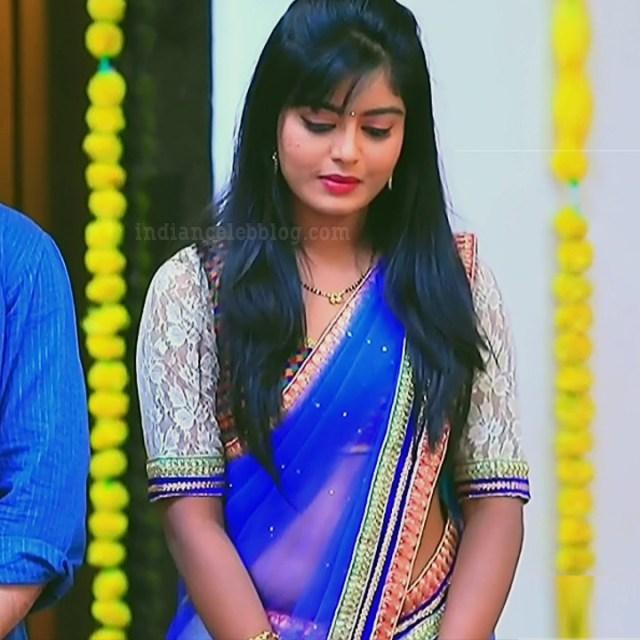 Kannada TV actress Kinnari Aishwarya S1 13 saree photo