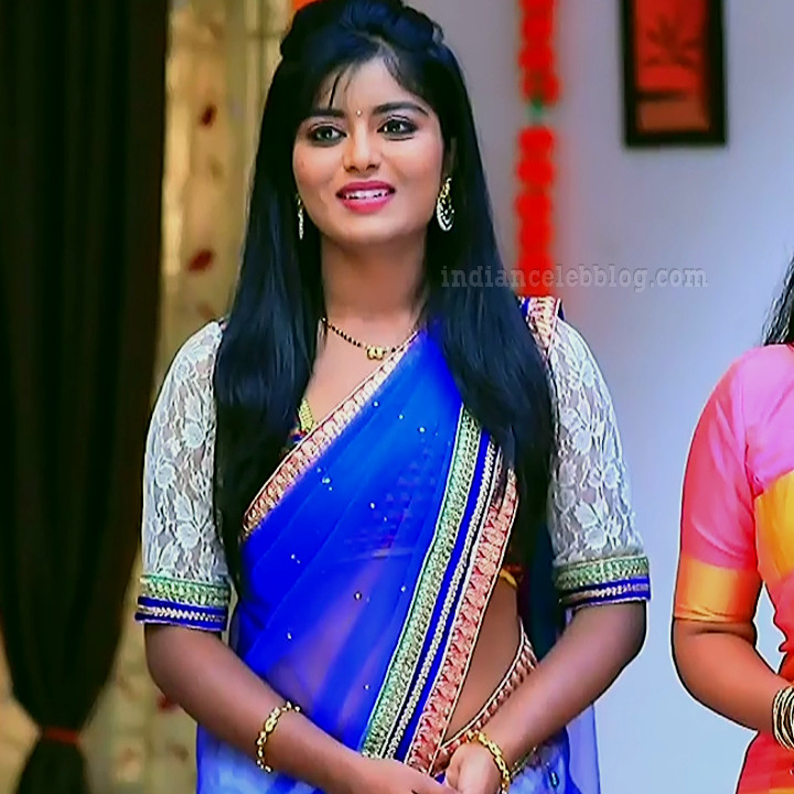 Kannada TV actress Kinnari S1 11 saree photo