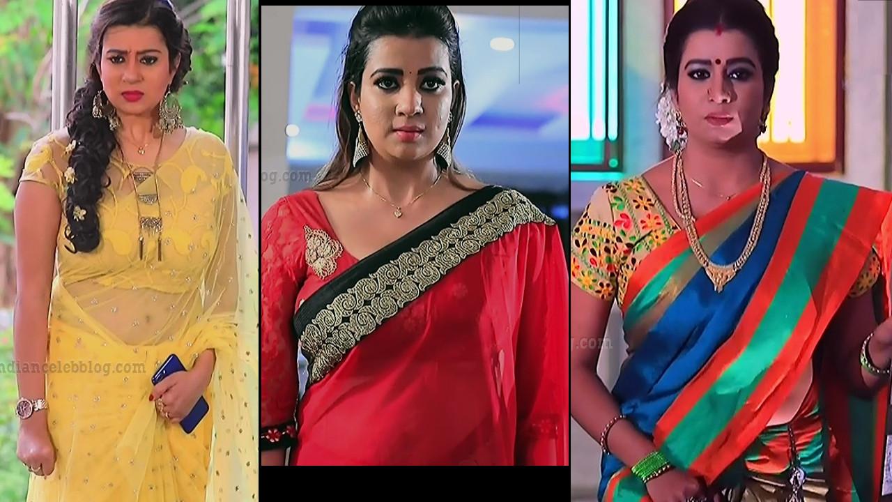 Kannada TV serial actress Putta GMS1 13 Caps