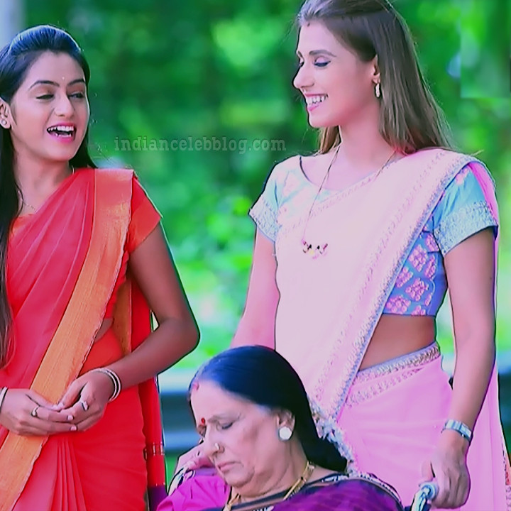 Krystyna devina lason kannada tv actress Bili HS1 8 saree photo