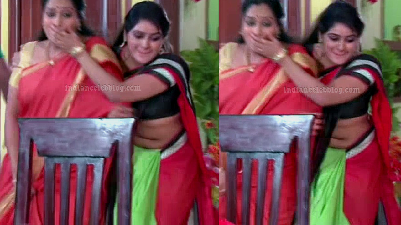 Monisha telugu serial actress nandhini VNS2 12 hot saree pics