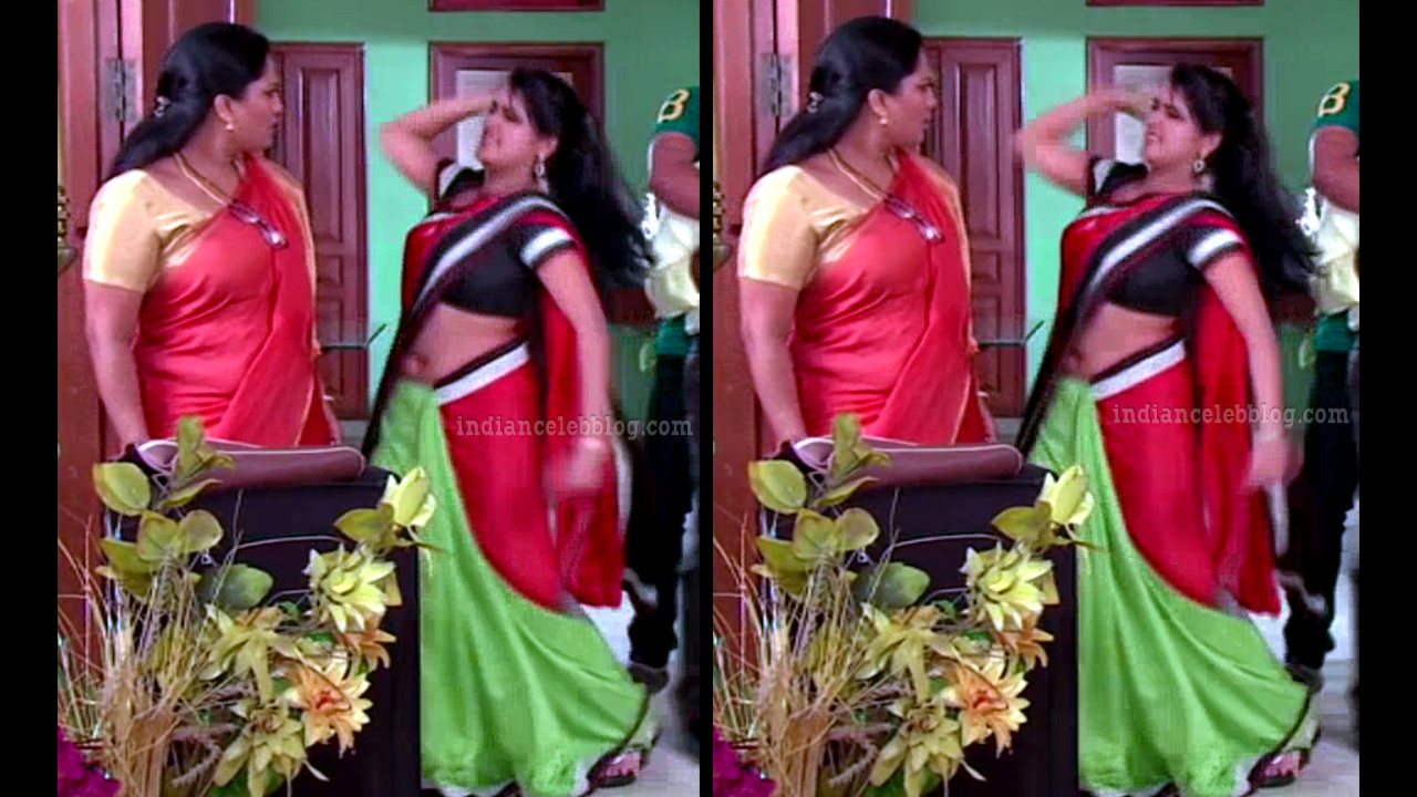 Monisha telugu serial actress nandhini VNS2 14 hot saree pics