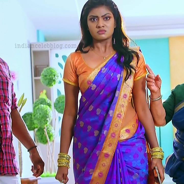 Nakshatra Srinivas Tamil TV serial Maya S1 9 Sari photo