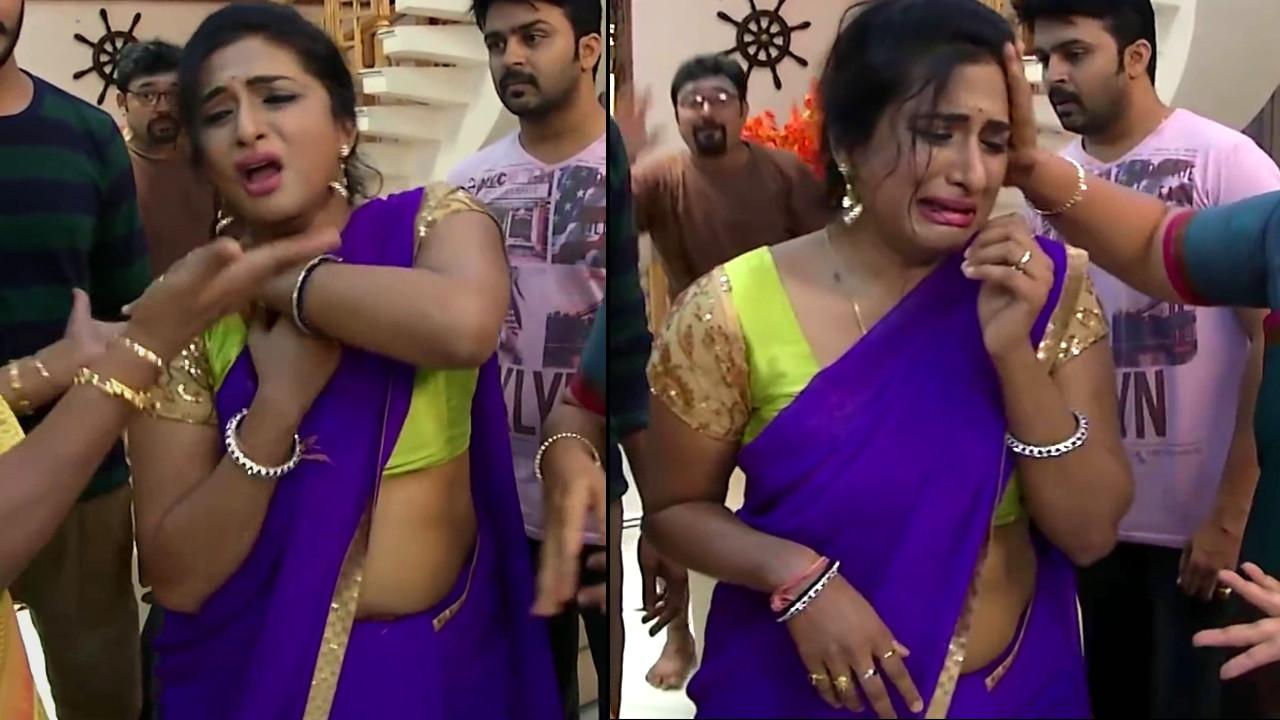 Ramya shankar Tamil TV actress Roja S1 12 Sari pics