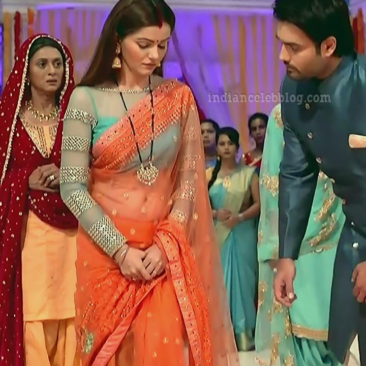 Rubina dilaik Hindi TV actress Shakti AS6 1 hot Saree photo