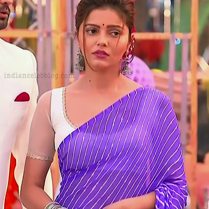 Rubina dilaik Hindi TV actress Shakti AS6 10 hot Sari photo