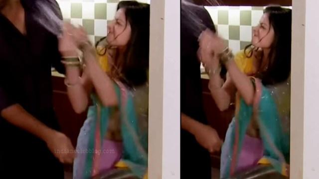 Shrenu parikh hindi tv actress CTS5 5 hot sari navel pics