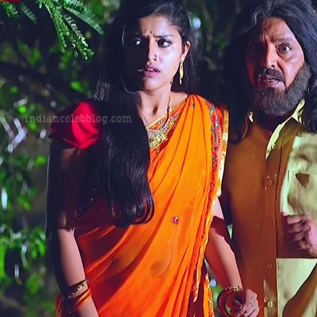 Shreya anchan tamil tv actress nandhini S1 5 hot saree photo