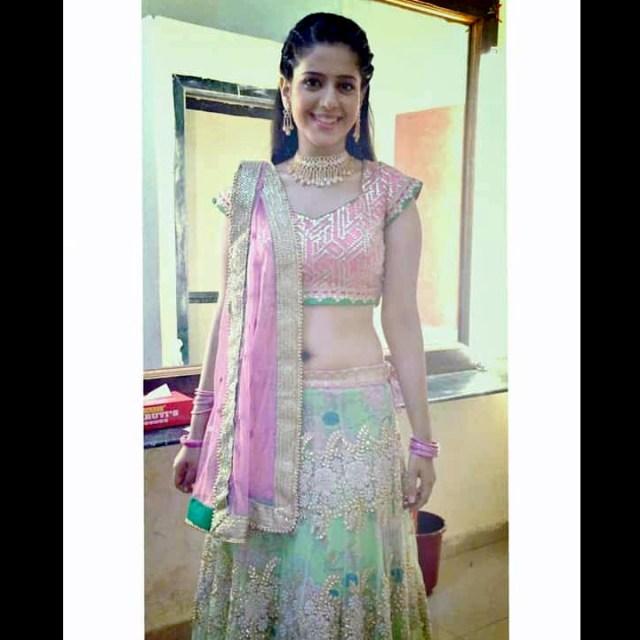 Simran pareenja hindi TV actress CTS1 14 hot lehenga photo