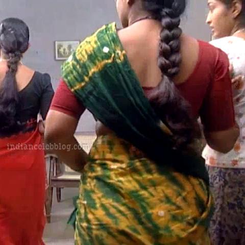 Siva Kavitha tamil tv actress aasai S1 5 sari photo