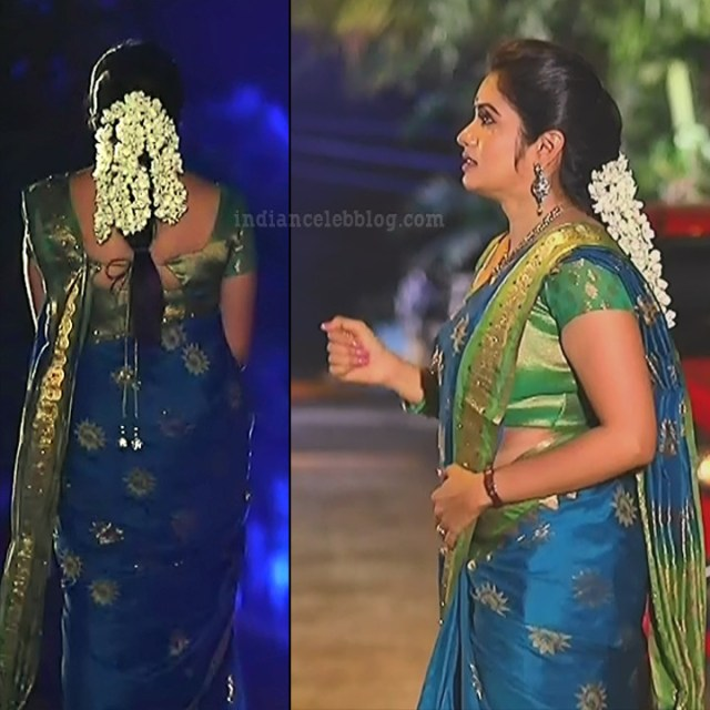 Srithika tamil TV actress KVS1 11 hot sari pics