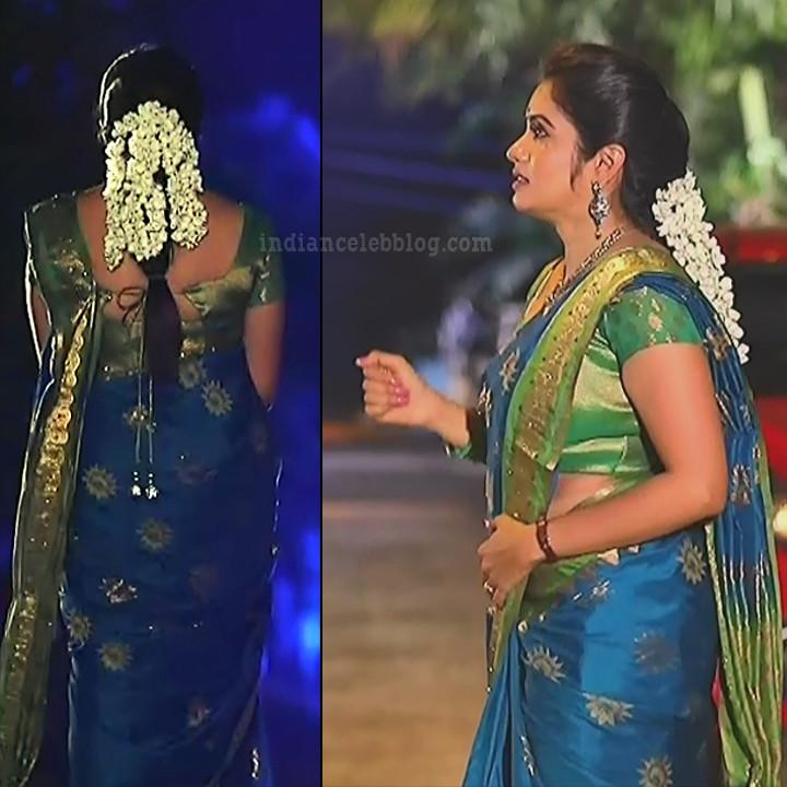 Srithika tamil TV actress KVS1 11 hot sari pics