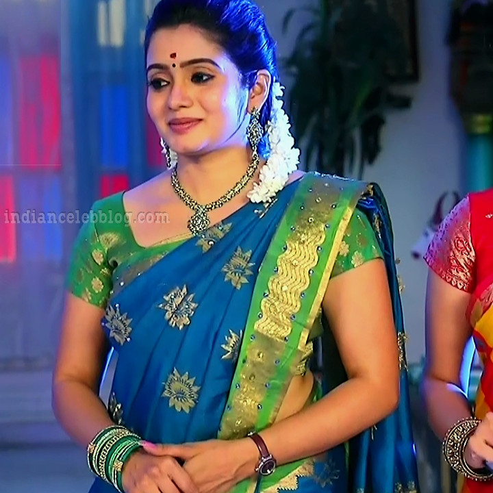 Srithika tamil TV actress KVS1 9 hot sari photo