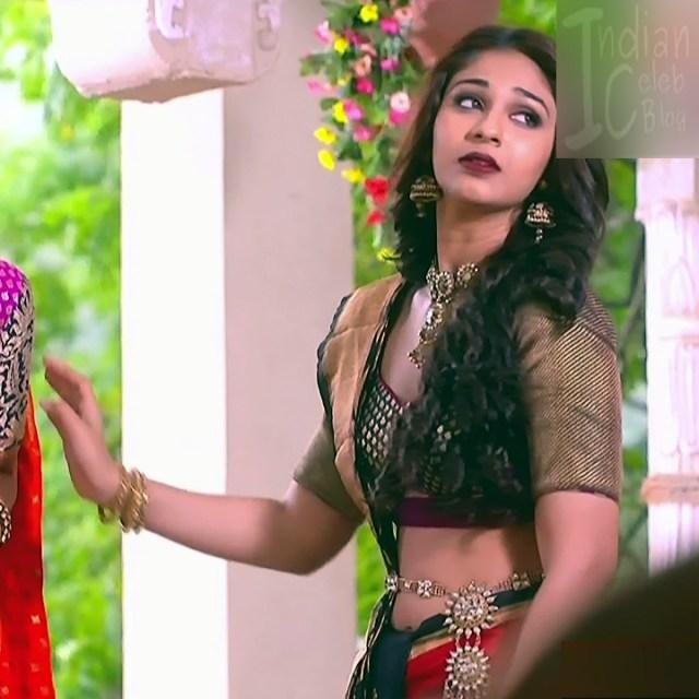 Vidhi pandya hindi tv actress udaan S4 11 hot saree caps