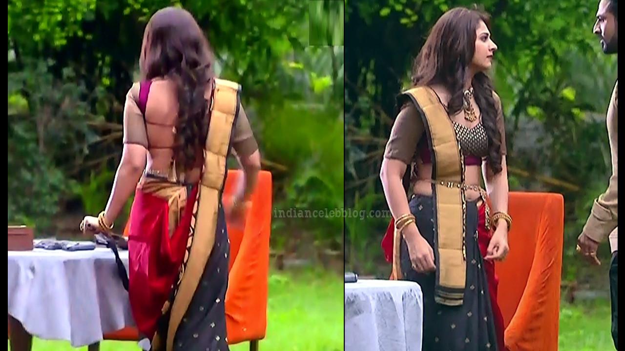 Vidhi pandya hindi tv actress udaan S4 12 hot saree pics