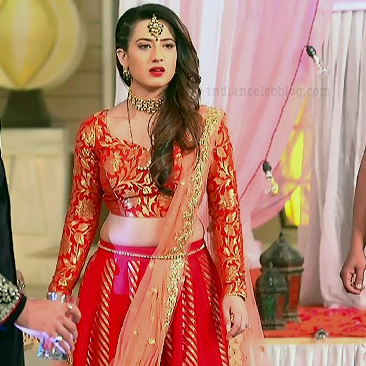 Alisha panwar ishq marjawan actress S4 2 lehenga photo