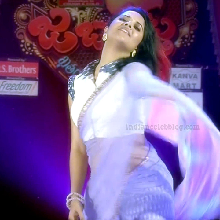 Anasuya teleugu TV anchor Reality show 14 hot saree dance